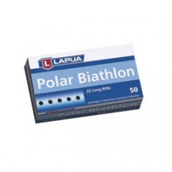 MUNICION LAPUA POLAR BIATHLON 22LR 50UD