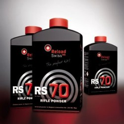 BOTE POLVORA RELOAD SWISS RS70 1KG