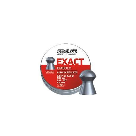 CAJA BALINES JSB EXACT 4,53MM 0,547G 500UD