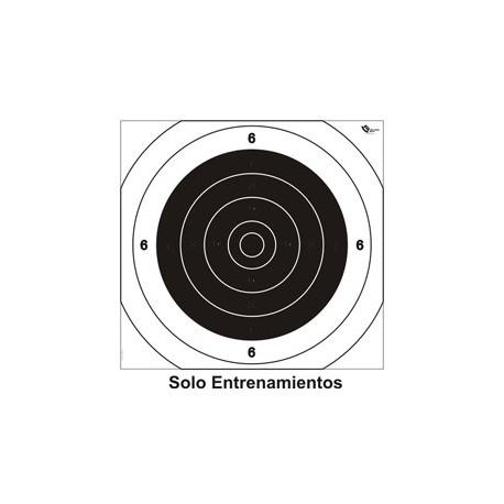 CENTRO BLANCO PISTOLA PRECISIÓN 25/50/100M 200UD