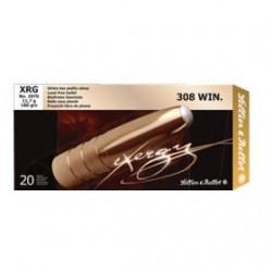 MUNICION S&B EXERGY XRG 308 WIN 180GR 20UD