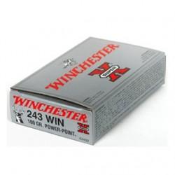MUNICION WINCHESTER SX 243 WIN 100GR 20UD
