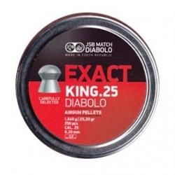 CAJA BALINES JSB EXACT KING 6,35MM 1,645GR 350 UD