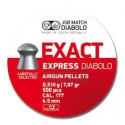 CAJA BALINES JSB EXACT EXP. 4,52MM 0,510G 500 UD
