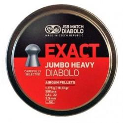 CAJA BAL. JSB JUM. EXACT HEAVY 5,52MM 1,175G 500UD