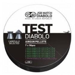 CAJA BALINES JSB MATCH TEST PISTOLA 7X50 UD