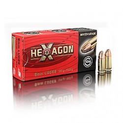MUNICION GECO CAL.9MM LUGER HEX 124GR 50UD
