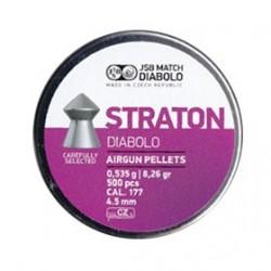 CAJA BALINES JSB STRATON 4,50MM 0,535G 500 UD