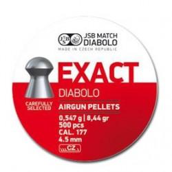 CAJA BALINES JSB  EXACT 4,50MM 0,547G 500 UD