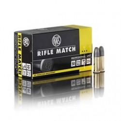 MUNICION RWS RIFLE MATCH 22 LR 50UD