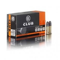 MUNICION RWS CLUB 22 LR 50UD