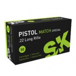 MUNICION SK PISTOL MATCH SPECIAL 22 LR 50UD