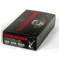MUNICION WINCHESTER BS 300 WM 180GR 20UD