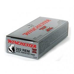 MUNICION WINCHESTER SX  222 REM 50GR 20UD