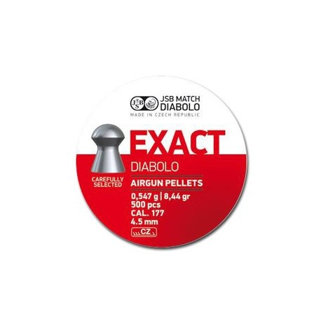CAJA BALINES JSB EXACT 4,52MM 0,547G 500 UD