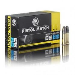 MUNICION RWS PISTOL MATCH 22 LR 50 UD