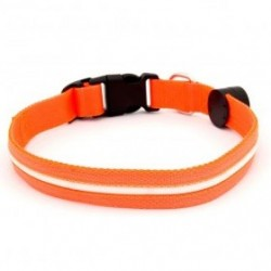 COLLAR LED LOCATOR NARANJA 40-55CM